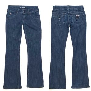 {Hudson} Signature Bootcut Flap Jeans in Dew
